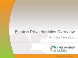 Electric Drive Vehicles Overview