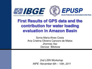 First Results of GPS data and the contribution for water loading evaluation in Amazon Basin