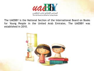 Promote  a culture of reading among children and young people in the  UAE