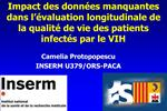 Impact des donn es manquantes dans l  valuation longitudinale de la qualit  de vie des patients infect s par le VIH