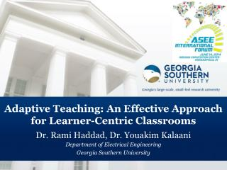 Adaptive Teaching: An Effective Approach for Learner-Centric Classrooms