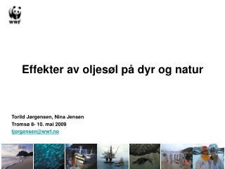 Effekter av oljes�l p� dyr og natur