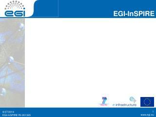 EGI InSPIRE Slide Template
