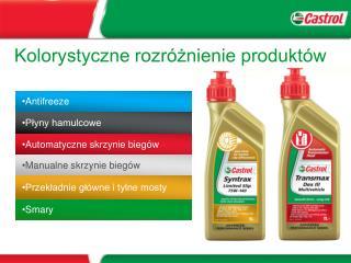 Kolorystyczne rozróżnienie produktów