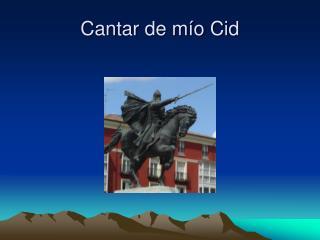 Cantar de m ío Cid