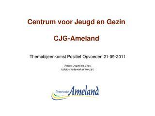 Centrum voor Jeugd en Gezin CJG-Ameland