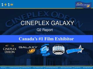 CINEPLEX GALAXY