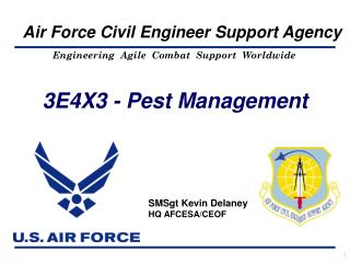 3E4X3 - Pest Management