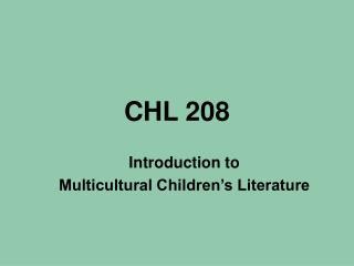 CHL 208