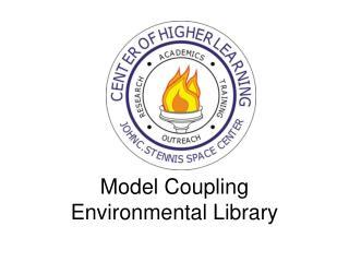 Model Coupling Environmental Library