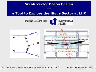 Weak Vector Boson Fusion --- a Tool to Explore the Higgs Sector at LHC