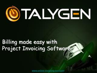 Billing made easy with Project Invoicing Software