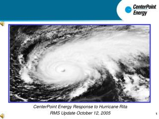 CenterPoint Energy Response to 'Hurricane Rita'