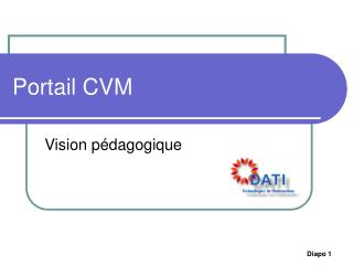 Portail CVM