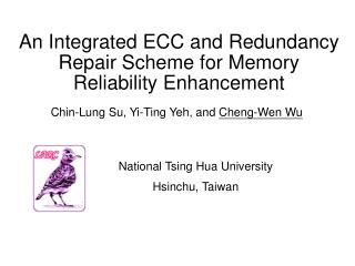 An Integrated ECC and Redundancy Repair Scheme for Memory Reliability Enhancement