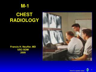 M-1 CHEST RADIOLOGY