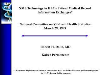 Robert H. Dolin, MD Kaiser Permanente