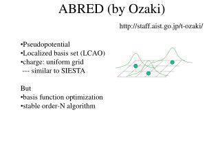 ABRED (by Ozaki)