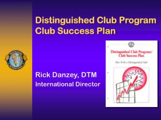 Distinguished Club Program Club Success Plan