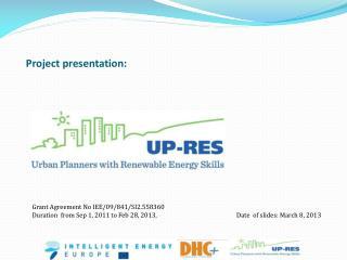 Project presentation: