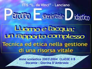 ITIS  L. da Vinci  - Lanciano