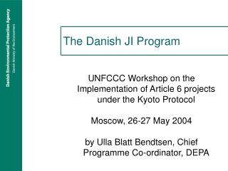 The Danish JI Program