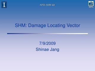 SHM: Damage Locating Vector