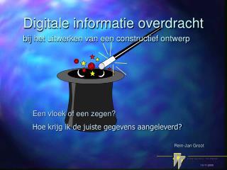 Digitale informatie overdracht