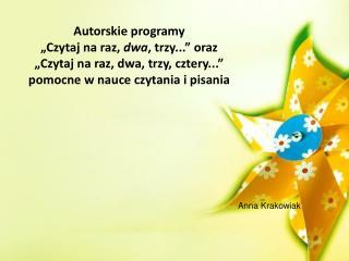 Anna Krakowiak