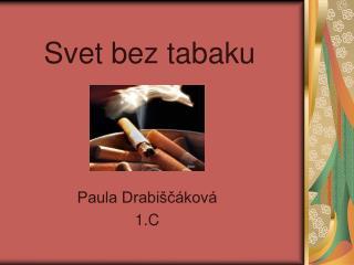 Svet bez tabaku