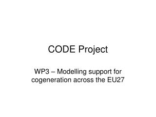 CODE Project