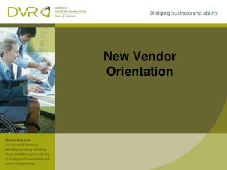New Vendor Orientation