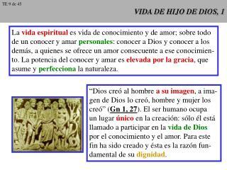 VIDA DE HIJO DE DIOS, 1