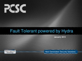 Fault Tolerant powered by Hydra