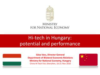 Hi-tech in Hungary: potential and performance