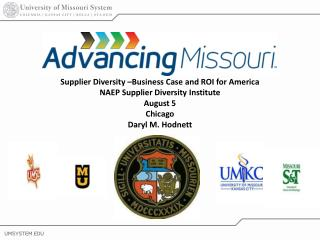 Supplier Diversity for Universities and other Businesses