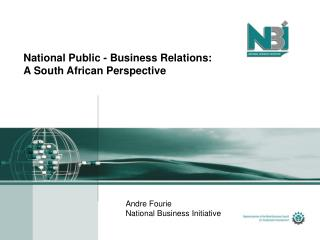 National Public - Business Relations: A South African Perspective