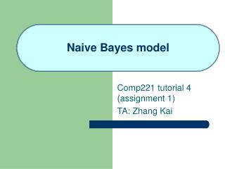 Naive Bayes model
