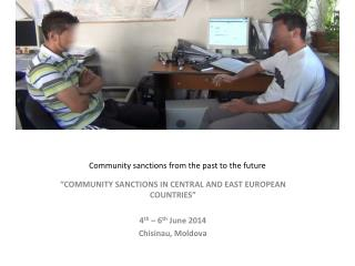 Community sanctions from the past to the future