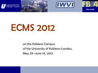 ECMS 2012