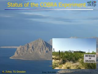 Status of the COBRA Experiment