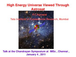 High Energy Universe Viewed Through Astrosat