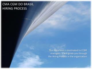 CMA CGM DO BRASIL HIRING PROCESS