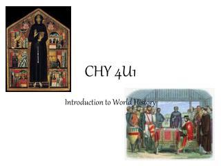 CHY 4U1