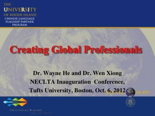 Creating Global Professionals