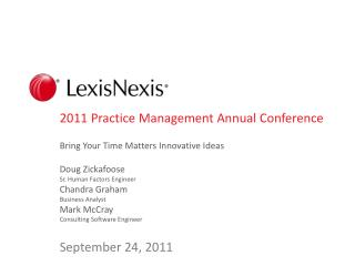 2011 Practice Management Annual Conference