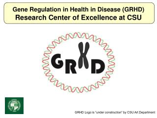 Gene Regulation in Health in Disease (GRHD) Research Center of Excellence at CSU