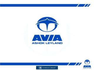 AVIA Aviation History AVIA established in 1919 as aircraft manufacturer