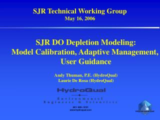 SJR Technical Working Group May 16, 2006