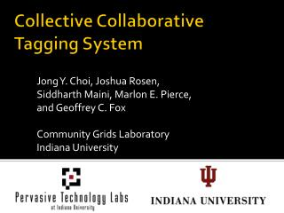 Collective Collaborative  Tagging  System